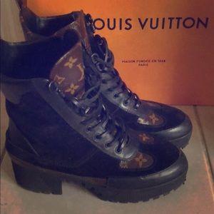 Authentic Louis Vuitton Dessert boots